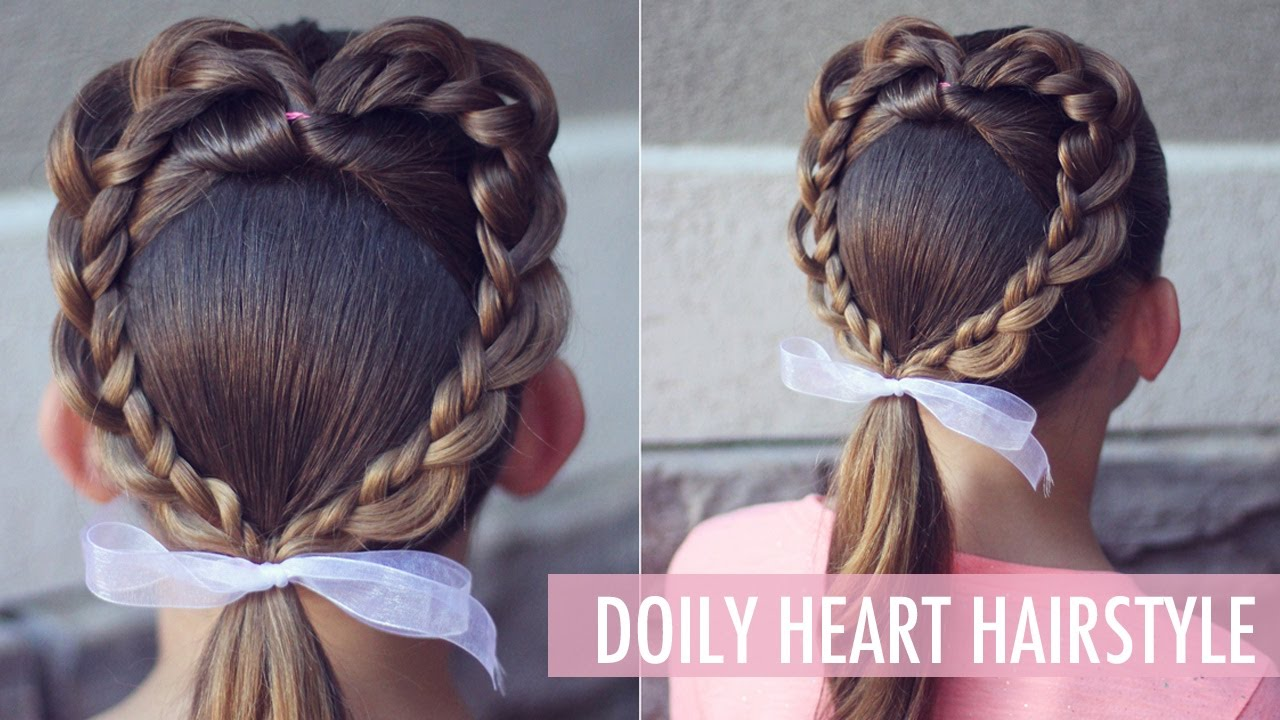 hair style how to make doily hairstyle the s day that 4949