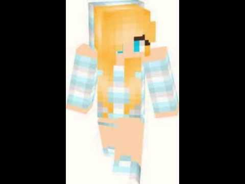 Top Skins De Minecraft Chicas YouTube - Skins para minecraft pe chicas