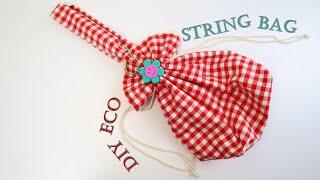 DIY/Eco string bag/패턴 하나로 다양한 …