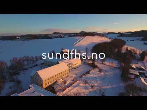 Sund folkehøgskole ligger vakkert til ved Trondheimsfjorden