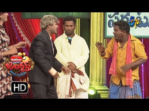 Kiraak RP Performance | Jabardasth |  14th December 2017  | ETV  Telugu