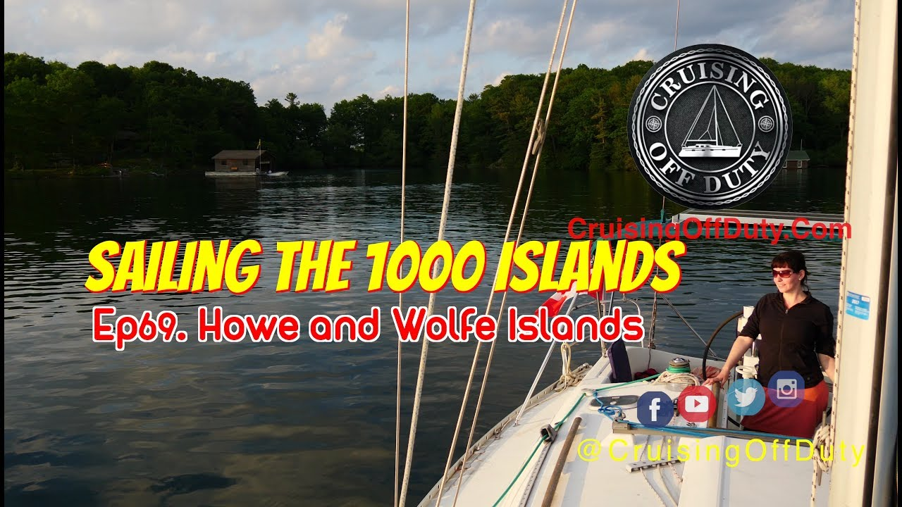 Amazon Uk Camano Island Sailing The 1000 Islands Exploring The Bays Of Howe Island And Wolfe Island Ep69 4k