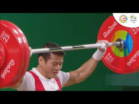Cử tạ nam hạng cân 56 kg Trần Lê Quốc Toàn Thạch Kim Tuấn