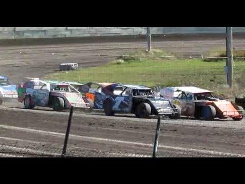9-29-13 sport mods feature race at Arlington Raceway MN