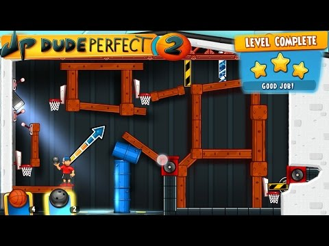 Dude Perfect 2: Level 31 -  Gameplay [Android] 3 Stars