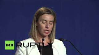 Switzerland: All nuclear-related sanctions on Iran to be dropped - Mogherini