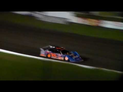 Late Model Heat 2 @ Hamilton County Speedway 09/23/17