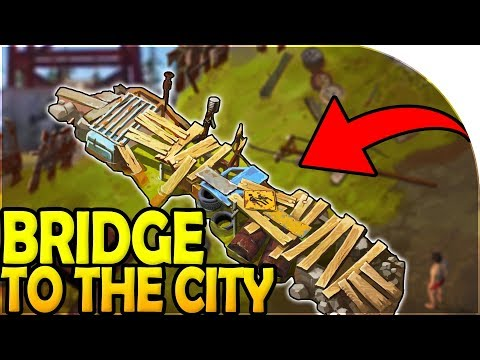 BRIDGE to THE CITY - HARDEST RAID POSSIBLE! - Last Day On Earth Survival Update 1.8.7