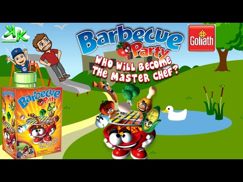 Barbecue Party - Toy BBQ with Toy Food Cookout - Goliath Games Review