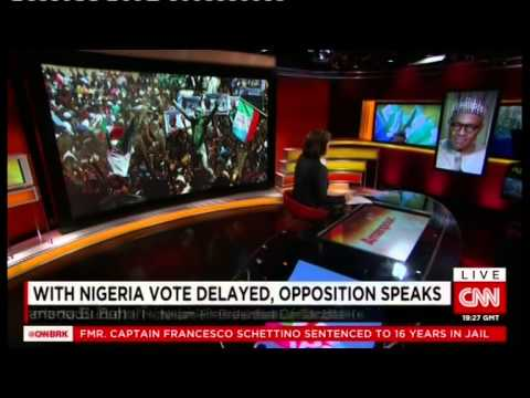 CNN Amanpour Exclusive Interview with GMB...