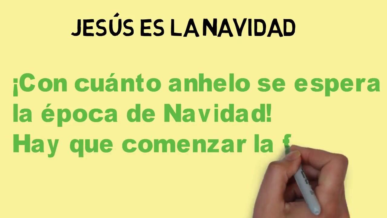 Poema cristiana  - JESÚS es la Navidad