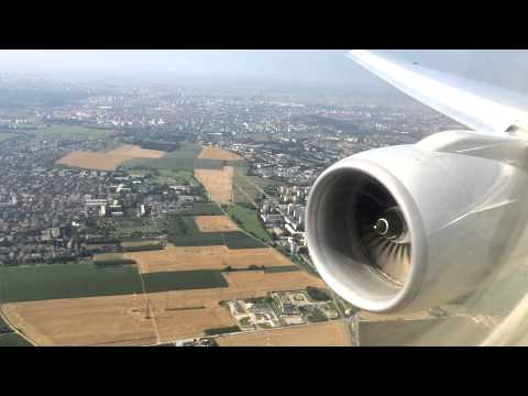 Amercian Airlines|First Class|Dallas To Paris|777-200|HD