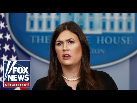 Watch Live: White House press briefing with Sarah Sanders