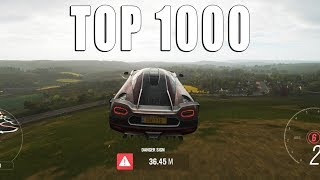 DANGER SIGN JUMPS WITH THE FASTEST CARS IN THE GAME | Forza Horizon 4
