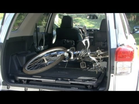 2010 Toyota 4Runner Cargo Capabilities YouTube