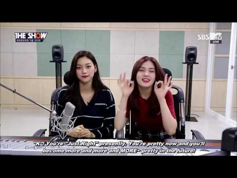 [ENG SUB] 160906 Doyeon & Somi  - Autumn Radio @ The SHOW