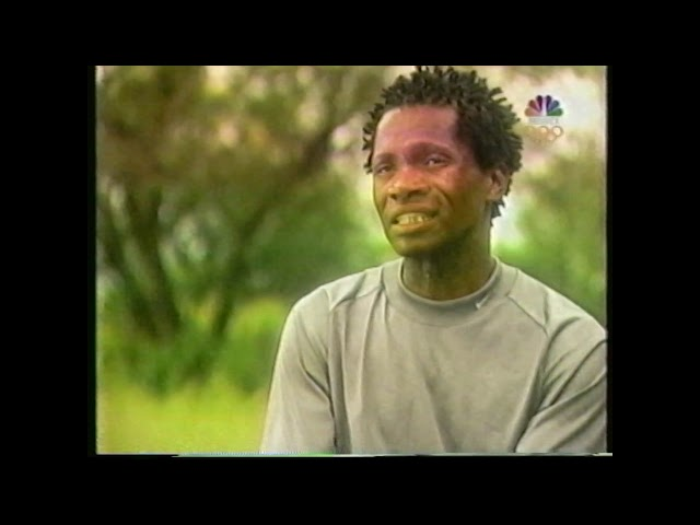 South African marathoner Josiah Thugwane  - Profile (2000)