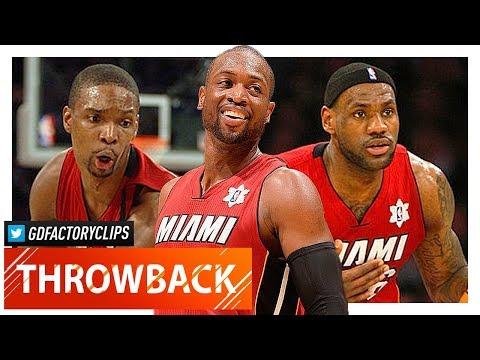 LeBron James, Dwyane Wade & Chris Bosh XMAS Highlights vs Lakers (2010.12.25) - EPIC!