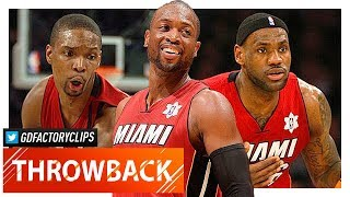 LeBron James, Dwyane Wade & Chris Bosh XMAS Highlights vs Lakers (2010.12.25) - EPIC!