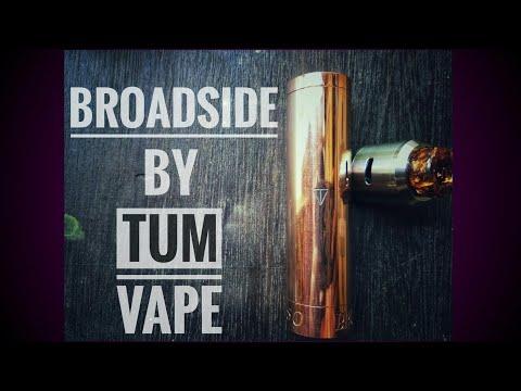 รีวิว Mod Broadside งาน Tum Vape (รีวิวแรก)