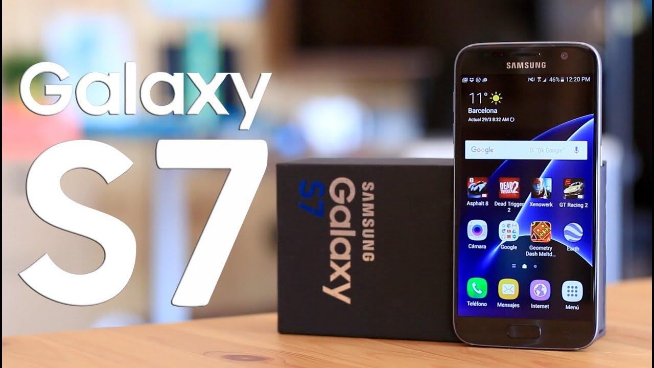 Samsung Galaxy S7, Review en español - YouTube