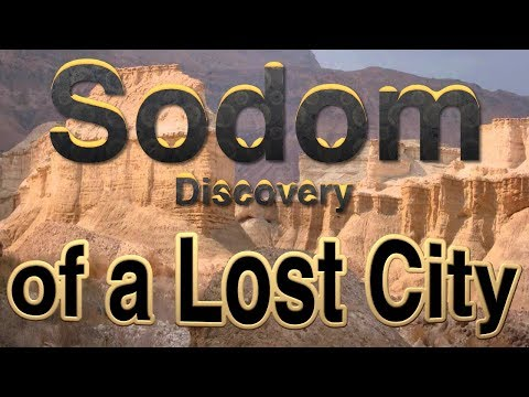 Archaeologist Leen Ritmeyer 'Sodom, Discovery of a Lost City
