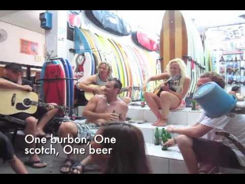 Kuta Jam Band: One Burbon, One scotch, One Beer