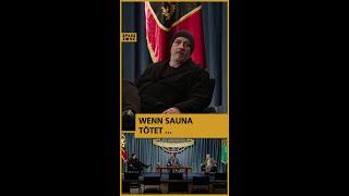 Ab wann wird Sauna tödlich eigentlich? Das Gipfeltreffen