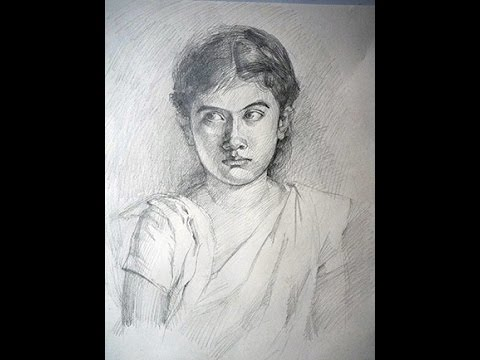 Vẽ chân dung nhân vật ưa thích- Ruhana Khanna