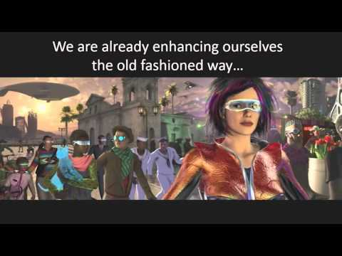 David Brin (Award Winning Sci-Fi Author) - THE AUGMENTED FUTURE at AWE 2015