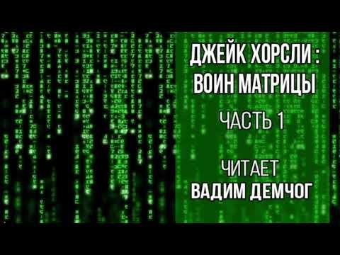 Джейк Хорсли. Воин Матрицы. Часть 1. Читает Вадим Демчог