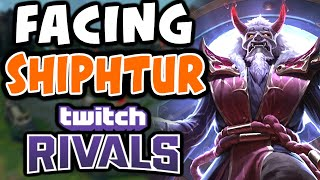 Facing SHIPHTUR in TWITCH RIVALS | Challenger Zilean Mid | 10.6 - League of Legends