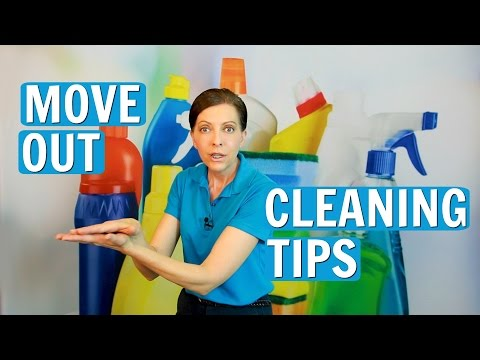 Move Out Cleaning Tips  - House Cleaner Training (2017)