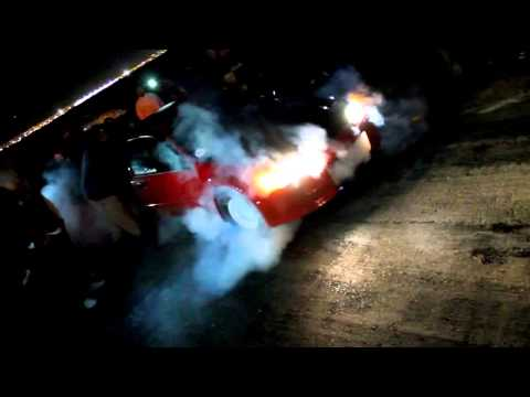 Asylum Racing integra VS Team Adrenalin Civic street racing
