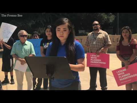 Fresno healthcare protest