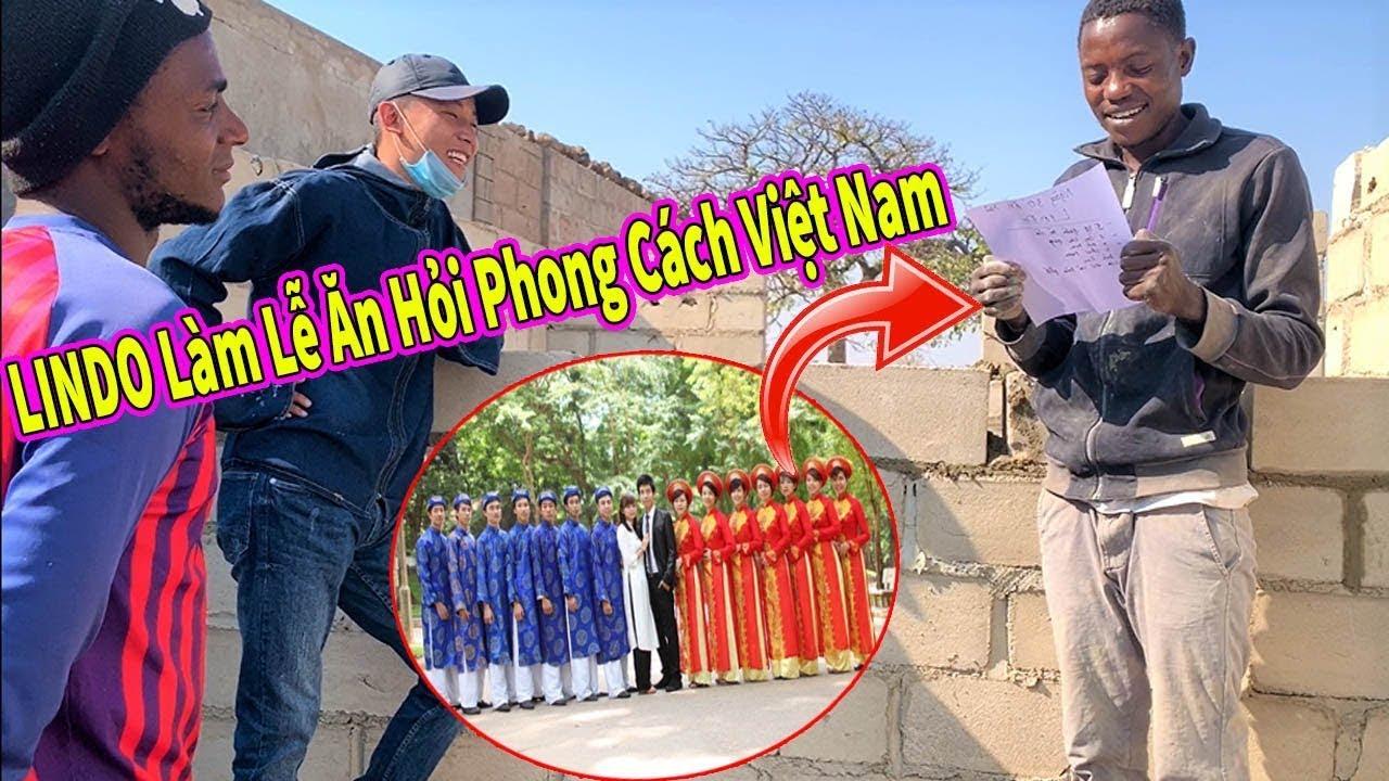 Quanglinhvlogs || Bất Ngờ Khi LINDO Lên Kế Hoạch Làm Lễ Ăn Hỏi Theo Phong Tục Việt Nam