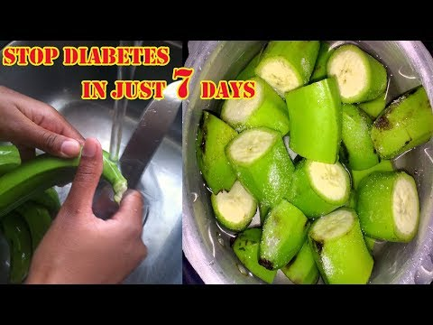 Green bananas a diabetes friendly snack | Stop Diabetes In Just 7 Days