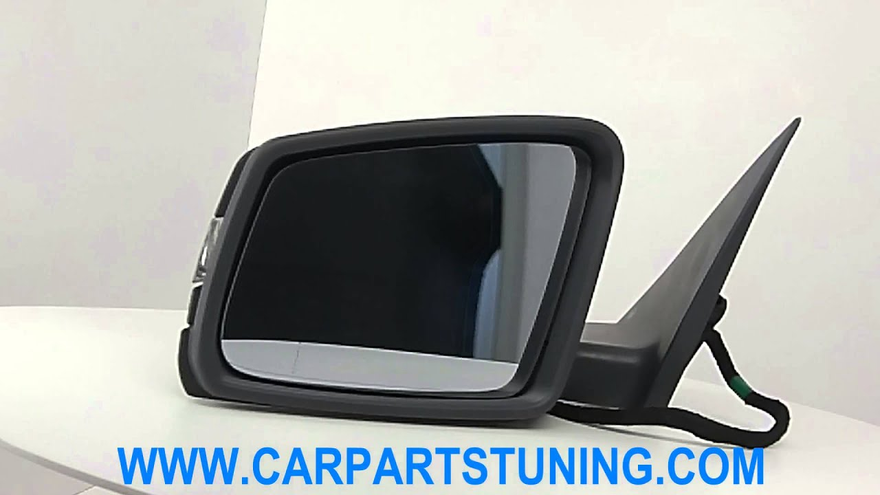 complete mirror assembly mercedes-benz s class w221 amg look