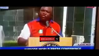 Jide Sanwo-Olu was arrested for spending Fake Dollars in US - Ambode Says
