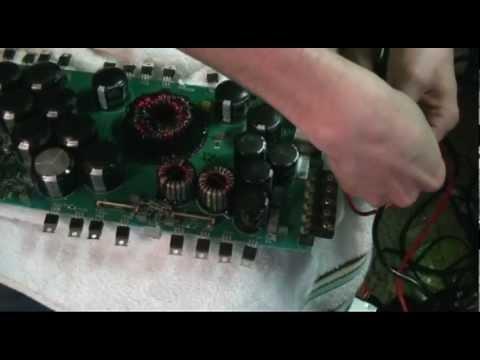 Amp Repair MTX 81000D - YouTube