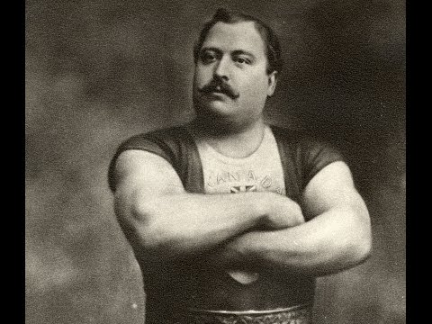 LOUIS CYR  THE STRONGEST MAN IN THE RECORDED HISTORY
