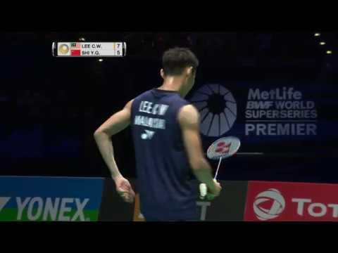 Yonex All England Open 2017 | Badminton F M2-MS | Lee Chong Wei vs Shi Yuqi