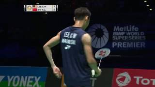 yonex all england open 2017   badminton f m2 ms   lee chong wei vs shi yuqi