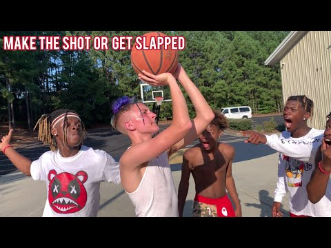 make-the-shot-or-get-slapped-🏀🤕-(w/-the-backpack-kid,-lavaado,-&-friends)
