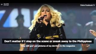Britney Spears - Piece Of Me - Lyrics On Screen
