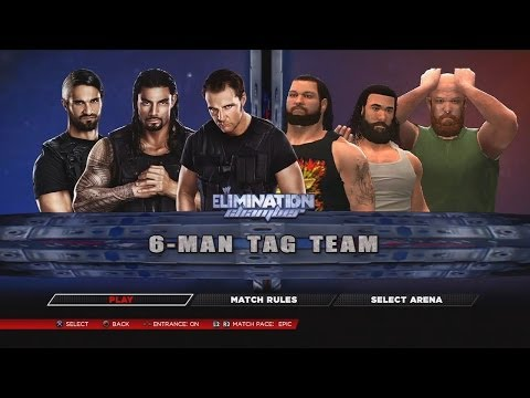 WWE 2K14 - Match Types (In This Years Wrestling Game)