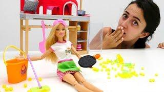 Barbie Ve Sevcan Meslek Seçiyorlar - 2. Kız Videoları Derlemesi