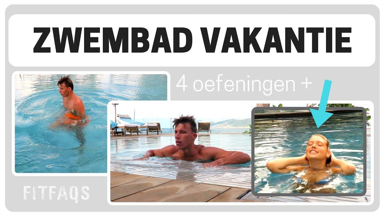 Beste Zwembad vakantie workout - 5 OEFENINGEN in het water #SWIMPOOLFUN PX-31