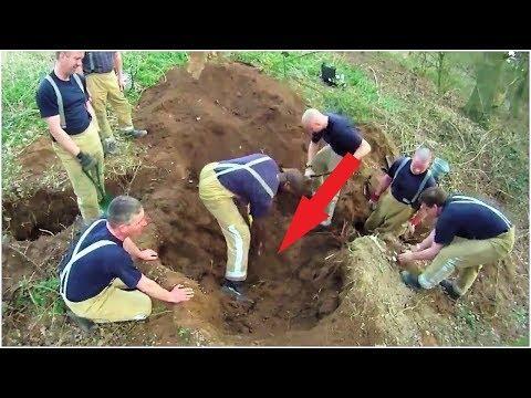 Люди слышали крики из под земли, продолжая копать. Счёт шёл на минуты...