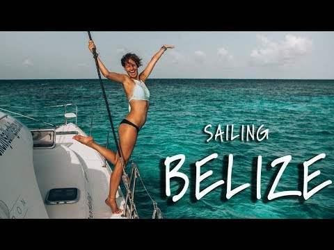 Living on a Sailboat in Belize! Travel Vlog  Pt.1